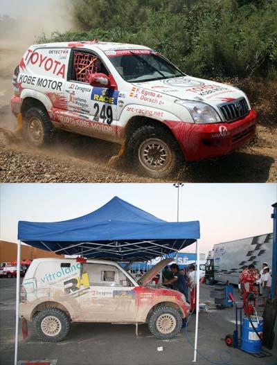 Éxito de ARC-Racing en la Baja España con todos sus vehículos en meta