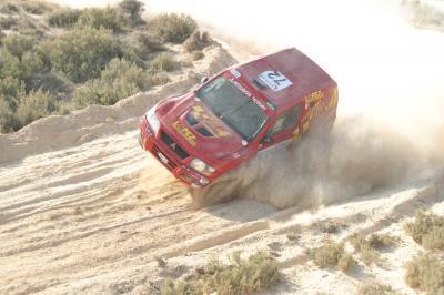 BAJA ESPAÑA 2008: EL JRX4 DE ALQUILER A MANOS DE JORGE LOPEZ SE ESTRENA