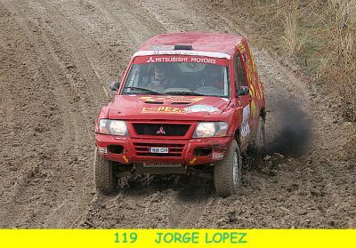 15º PARA JORGE LOPEZ CON EL MITSUBISHI T1 JRX4