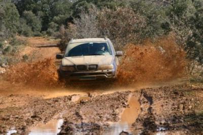 JRx4 COMPETICION CON BMW X5 RAID